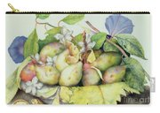 Still Life With Plums, Walnuts And Jasmine Carry-all Pouch