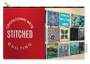Stitched Quilting Exhibit Carry-all Pouch