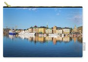 Stockholm Old City Fantastic Golden Hour Sunrise Reflection In The Baltic Sea Carry-all Pouch