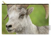 Stone's Sheep Ram Portrait Carry-all Pouch