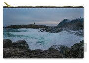 Storm At The Norwegian Coastline Carry-all Pouch