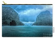 Storm Clouds Invade Ha Long Bay Blue Rain  Carry-all Pouch
