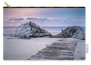 Storm Fence Sunrise Carry-all Pouch