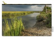 Pitt Street Bridge Storm Hues Carry-all Pouch by Donnie Whitaker