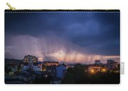 Stormy Weather Over The Small Town Carry-all Pouch