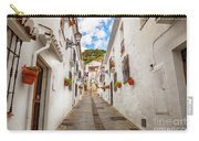 street in Mijas, Spain Carry-all Pouch by Ariadna De Raadt