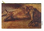 Study For Dead Horse Carry-all Pouch