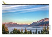 Stunning Alaskan Mountain Lake Carry-all Pouch