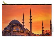 Suleymaniye Mosque At Sunset Carry-all Pouch