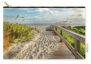 Sullivan's Island Station 18 1/2 Fall Day Carry-all Pouch by Donnie Whitaker