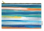 Summer Surf 3- Art By Linda Woods Carry-all Pouch
