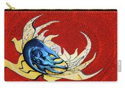 Sun And Moon On Red 2 Carry-all Pouch