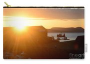 Sun Rise At Lyme Regis  Carry-all Pouch