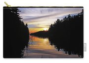 Sundown On The River Carry-all Pouch