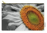 Sunflower And Shy Friend Carry-all Pouch