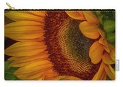 Sunflower Beauty Carry-all Pouch by Judy Hall-Folde