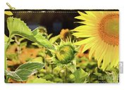 Sunflower Bloom Carry-all Pouch