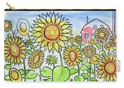 Sunflower Gods Carry-all Pouch