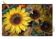Sunflower Harvest Carry-all Pouch