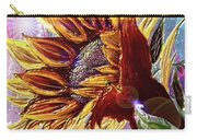 Sunflower In The Sun Carry-all Pouch by Darren Cannell