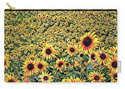 Sunflowers In Kansas Carry-all Pouch