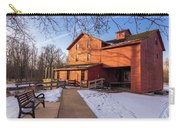 Sunny Winter Day At Bonneyville Mill Carry-all Pouch