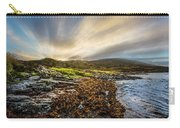 Sunrays At Dawn Along The Coast Carry-all Pouch