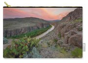 Sunrise In Big Bend Along The Hot Springs Trail 1 Carry-all Pouch