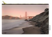 Sunrise In San Fransisco- Carry-all Pouch by JD Mims