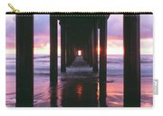 Sunrise Over The Pacific Ocean Seen Carry-all Pouch