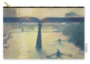 Sunrise Rowers On Lady Bird Lake Austin Carry-all Pouch