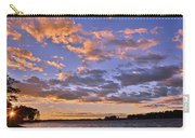 Sunrise Sky Carry-all Pouch by Lisa Wooten