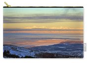 Sunrise View Across Cook Inlet From Above Anchorage Alaska Carry-all Pouch