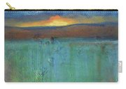 Sunset - Abstract Landscape Painting Carry-all Pouch