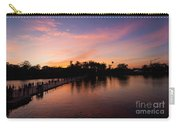 Sunset At Angkor Wat Carry-all Pouch