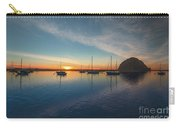 Sunset At Morro Bay Carry-all Pouch