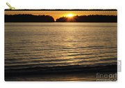 Sunset Beach Vancouver Island 2 Carry-all Pouch