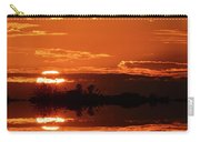 Sunset Behind Clouds Two Carry-all Pouch