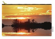 Sunset Behind The Tree Tops Two  Carry-all Pouch
