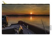Sunset Fishing Dog Lake Carry-all Pouch