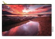 Sunset Harmony At Kiva Beach Carry-all Pouch