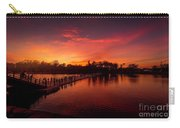 Sunset In Angkor Carry-all Pouch