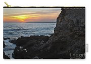 Sunset In Gale Beach. Coast Of Algarve 2 Carry-all Pouch