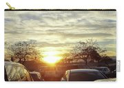 Sunset In Parking Lot 2 Carry-all Pouch
