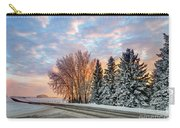Sunset In Winter Carry-all Pouch