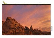 Sunset, Joshua Tree National Park Carry-all Pouch
