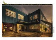 Sunset On North Building Carry-all Pouch by Juan Contreras