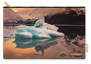 Sunset On Portage Glacier Lake Carry-all Pouch