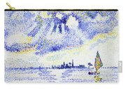 Sunset On The Lagoon, Venice - Digital Remastered Edition Carry-all Pouch