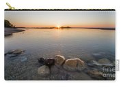 Sunset Over Platte River Carry-all Pouch